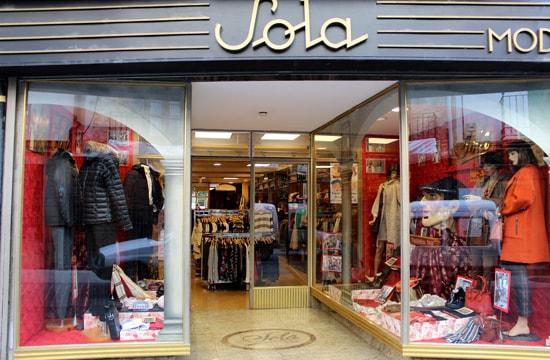 Tienda moda Sola Moda